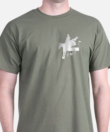 Eventing Men's Dark Colors T-Shirt