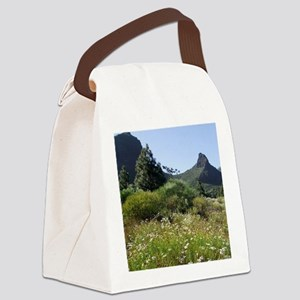Spain, Canary Islands, Tenerife,  Canvas Lunch Bag