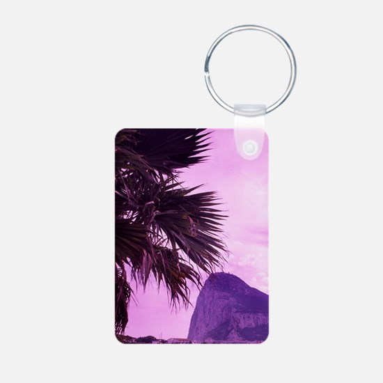 Famous Rock of Gibraltar o Keychains
