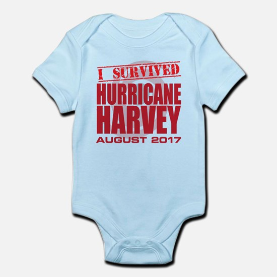 I Survived Hurricane Harvey Body Suit