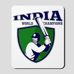 cricket player batsman india world champ Mousepad