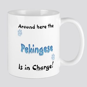 Pekingese Charge Mug