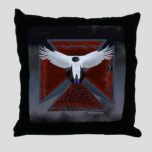 Eagle Cross16 Throw Pillow