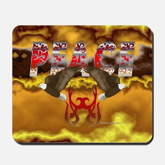Eagle Peace Mousepad