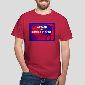 Impeach the groper in chief T-Shirt