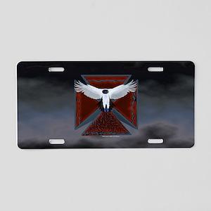 Eagle Cross16 Aluminum License Plate