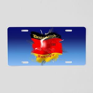 Deutscher Adler Aluminum License Plate
