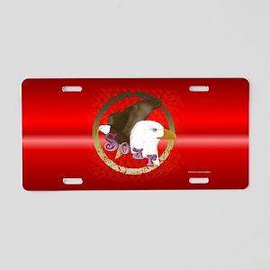 Soar Eagle Aluminum License Plate