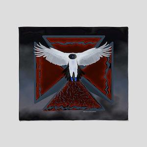 Eagle Cross16 Throw Blanket