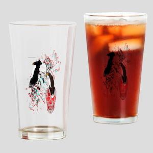 Sea Eagles Drinking Glass