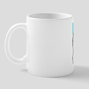 Trendy Zebra Stripe Nook Kindle Sleeve Mug