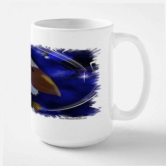 Spirit Eagles Large Mug