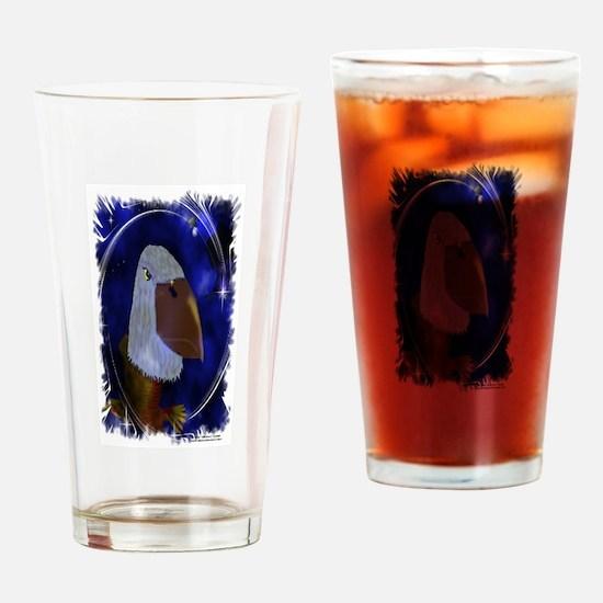 Spirit Eagles Drinking Glass