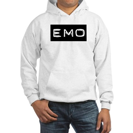 Emo Kid Emotional Label Hooded Sweatshirt