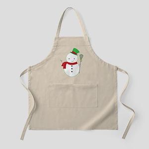 Lacrosse Christmas Snowman Apron