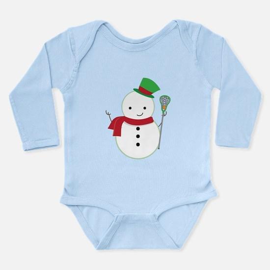 Lacrosse Christmas Snowman Body Suit