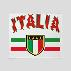 Italian Pride Throw Blanket