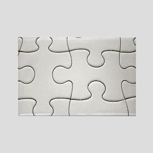 puzzleofapuzzle Rectangle Magnet
