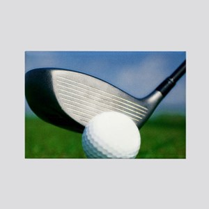 golf puzzle Rectangle Magnet