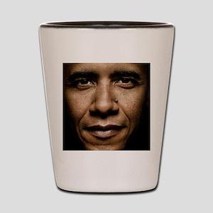 obama puzzle Shot Glass