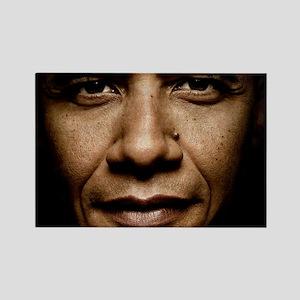 obama puzzle Rectangle Magnet