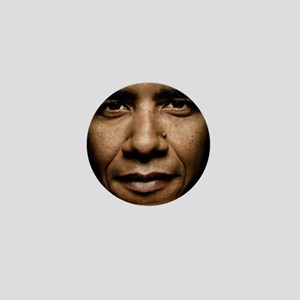 obama puzzle Mini Button