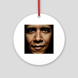 obama puzzle Round Ornament