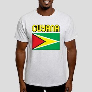 Guyana Flag Light T-Shirt