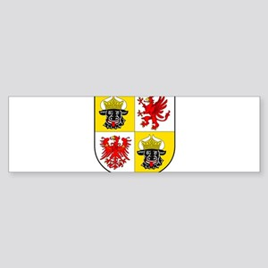 Coat of arms of Mecklenburg-Vorpomm Bumper Sticker