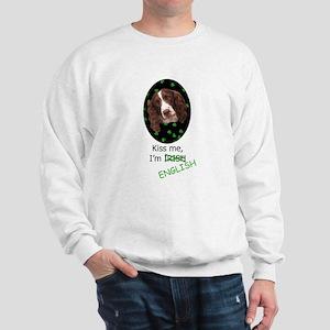 Kiss Me w/URL Sweatshirt