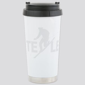 TE LE wht Stainless Steel Travel Mug