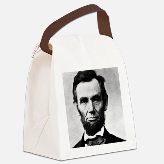 abe puzzle Canvas Lunch Bag