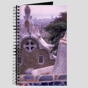 EU, Spain, Barcelona, Sights of Parc Guell Journal