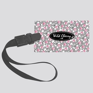 wild cherry floral-small bag Large Luggage Tag