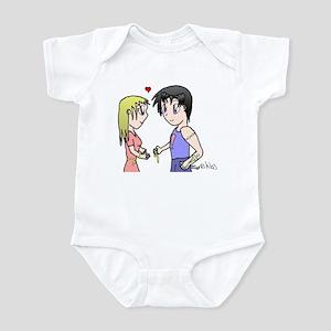 Baby Mismatched Couple Infant Bodysuit