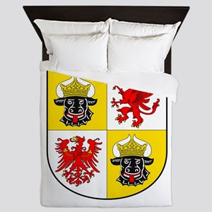 Coat of arms of Mecklenburg-Vorpommern Queen Duvet