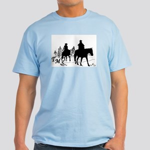 Trail Riding Men's Light Colors T-Shirt