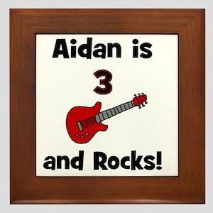 aidanis3androcks Framed Tile