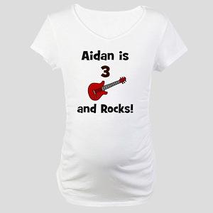 aidanis3androcks Maternity T-Shirt
