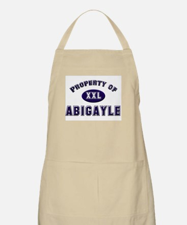 Property of abigayle BBQ Apron