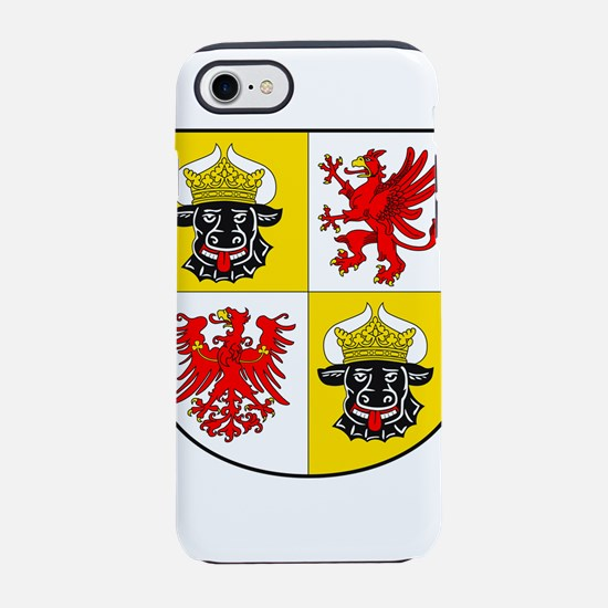 Coat of arms of Mecklenburg-Vo iPhone 7 Tough Case