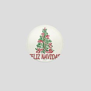 feliz navidad Mini Button