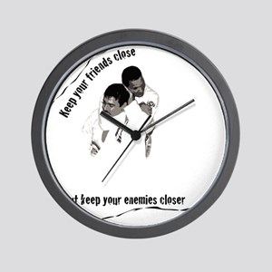 choke shirt Wall Clock