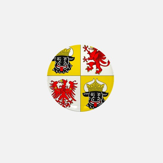 Coat of arms of Mecklenburg-Vorpommern Mini Button