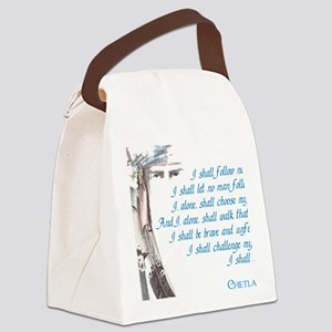 I shall be me Canvas Lunch Bag