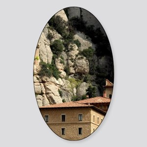 Catalunya. Benedictine monastery of Sticker (Oval)