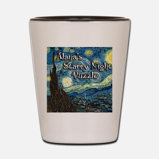 Alanas Shot Glass