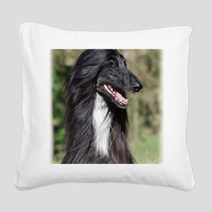 Afghan Hound AA017D-101 Square Canvas Pillow
