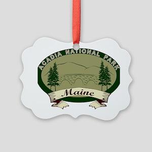 AcadiaBridges Picture Ornament