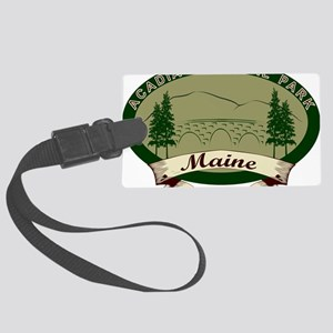 AcadiaBridges Large Luggage Tag